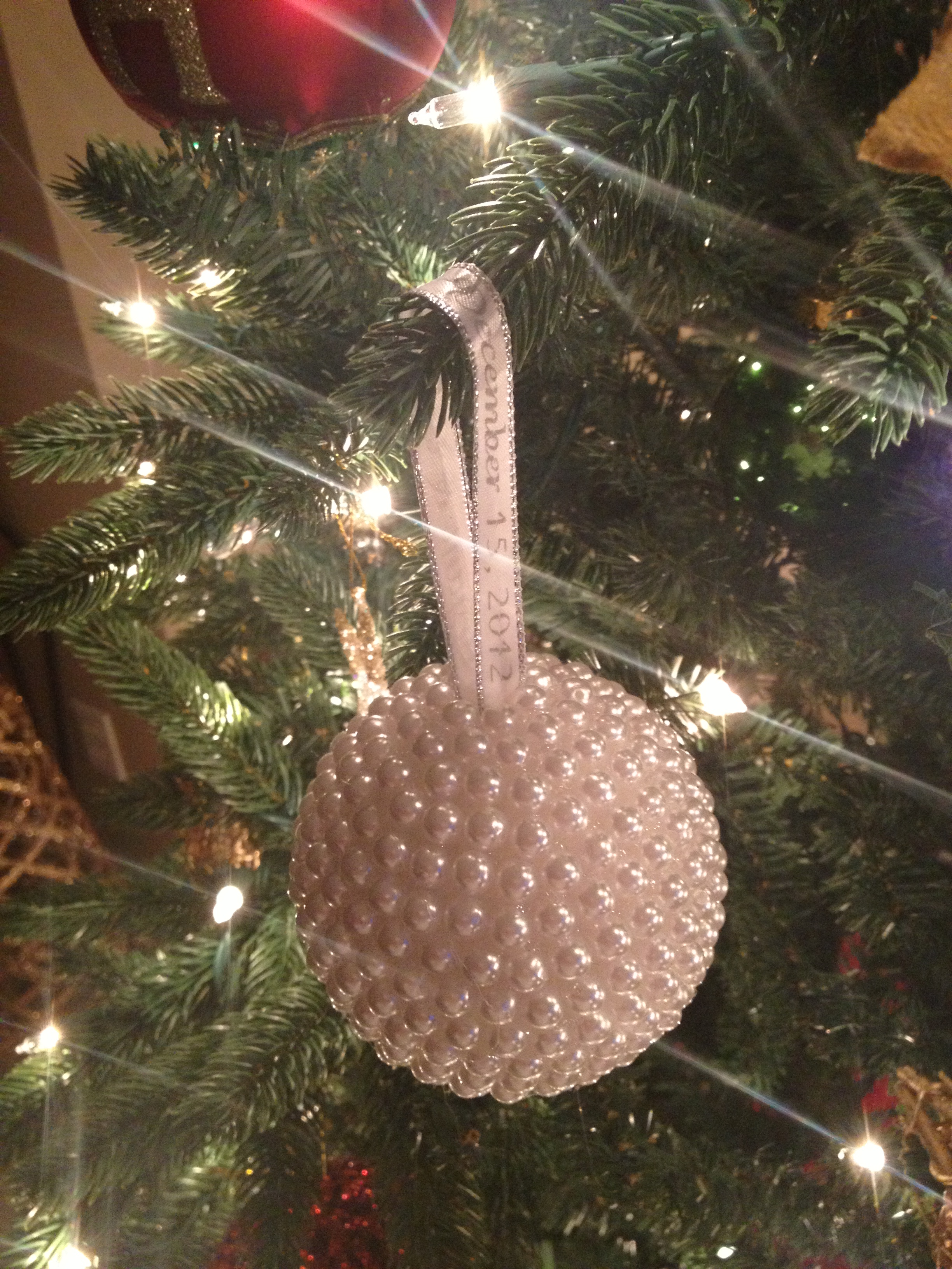 diy ornament wedding favors the hamby home