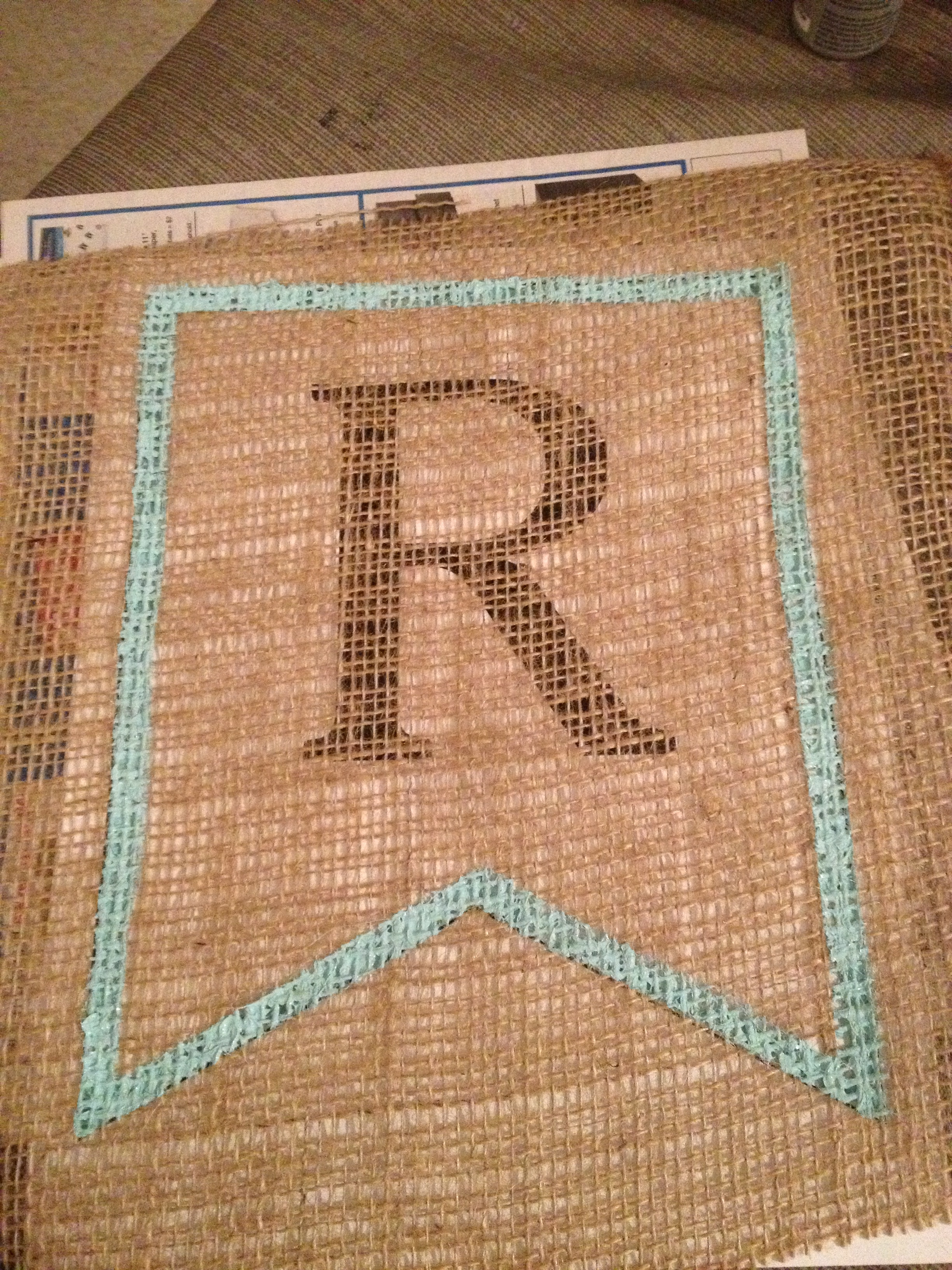 Diy Spring Burlap Banner With Free Banner Template The