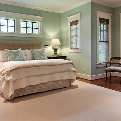 Tips for picking wall paint colors the hamby home for Aquamarine bedroom ideas