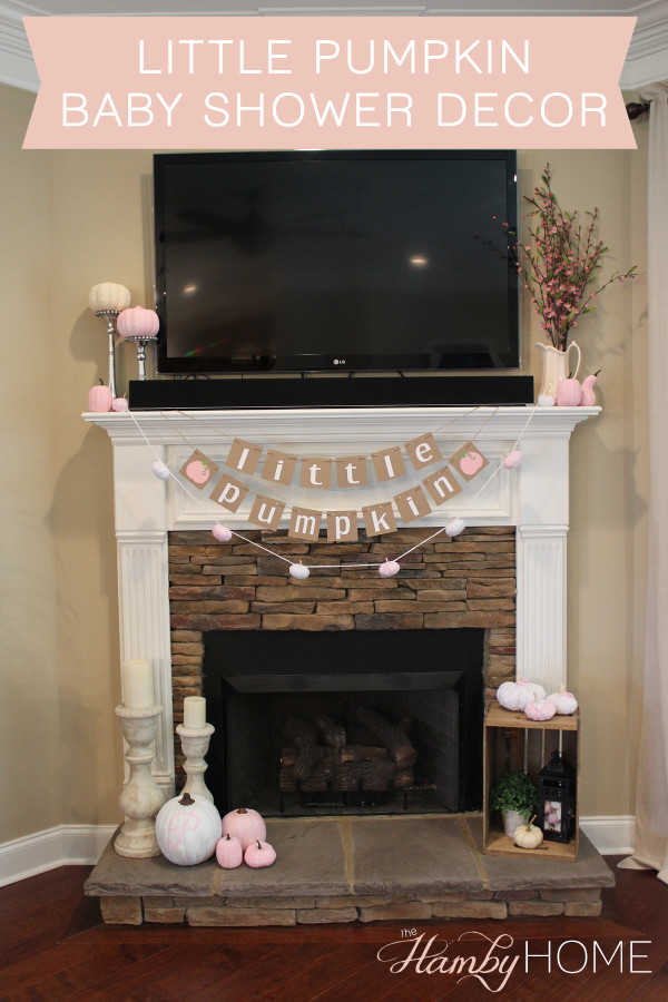 Little Pumpkin Baby Shower Decor The Hamby Home