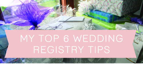 My top 6 wedding registry tips the hamby home junglespirit Images